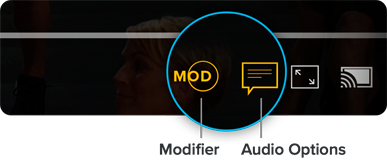 Modifier, Audio Options