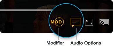 Modifier, Audio Options